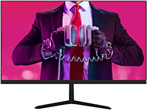 Nologo D240W 24 inch Full HD Pc Screen, IPS Computer Monitor Ultra-Thin 1920 1080P Gaming Display, Micro-Border 75Hz Refresh Rate HDMI+VGA Interface, for Home and Office, Black