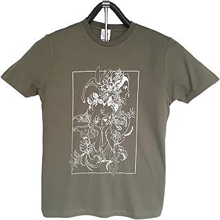 萩尾望都先生『ポーの一族展』〈Tシャツ トーマの心臓〉 (グリーンM)