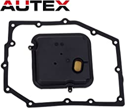 AUTEX 42RLE Transmission Filter Kit pan gasket Compatible With Jeep Liberty & Wrangler/Dodge Dakota & Durango & Magnum & Nitro & Charger & Chrysler 300 52852913AB