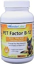 WonderLabs Pet Factor B-12 | Vitamin B-12 in Methylcobalamin Form | Popular in Treatment of EPI in Dogs
