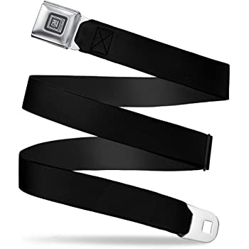 20-36 Inches in Length Buckle-Down Seatbelt Belt Black 1.0 Wide