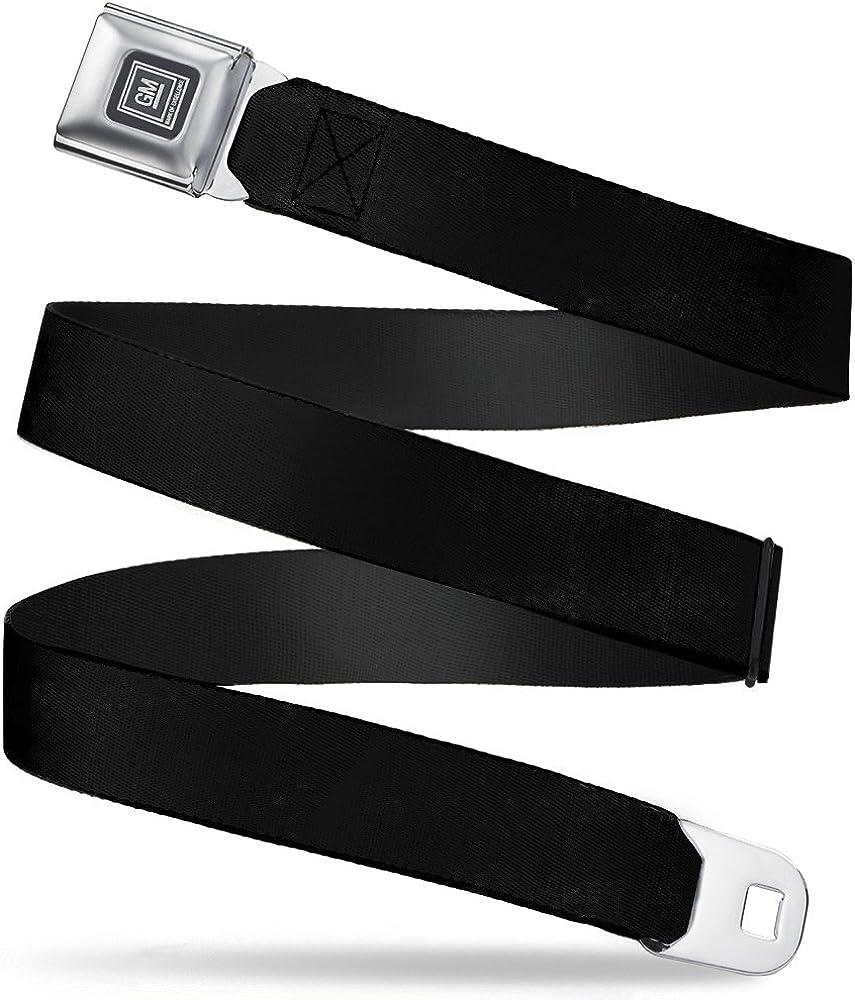Buckle-Down Seatbelt Belt GM Black Regular