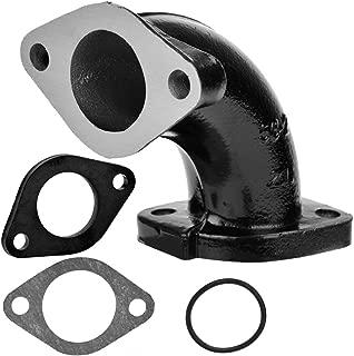 HIAORS Intake Manifold 56-2 Inlet Gasket 26mm For VM22 26mm Carburetor Tao Tao Zongshen Lifan YX 125cc 140cc Engine Thumpstar Atomic Pit Dirt Bike Black