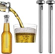 Bastão Resfriador Inox Garrafa Bebida Cerveja Bar Kit 2pçs