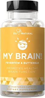My Brain! Migraine Relief & Headache Vitamins – Sensitivity, Nausea & Auras, Healthy Brain Function for Clear Mind – Fast-...