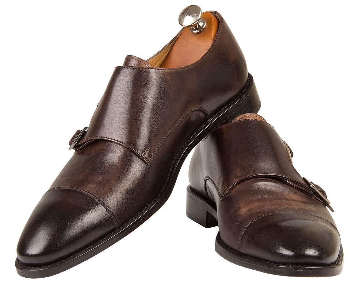 Atelier GUAROTTI -Italian Handmade New popularity Shoes Jesi Kansas City Mall Bespoke - Monk
