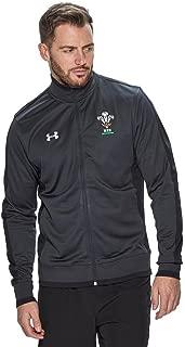 2018-2019 Wales Rugby WRU Track Jacket (Anthracite)