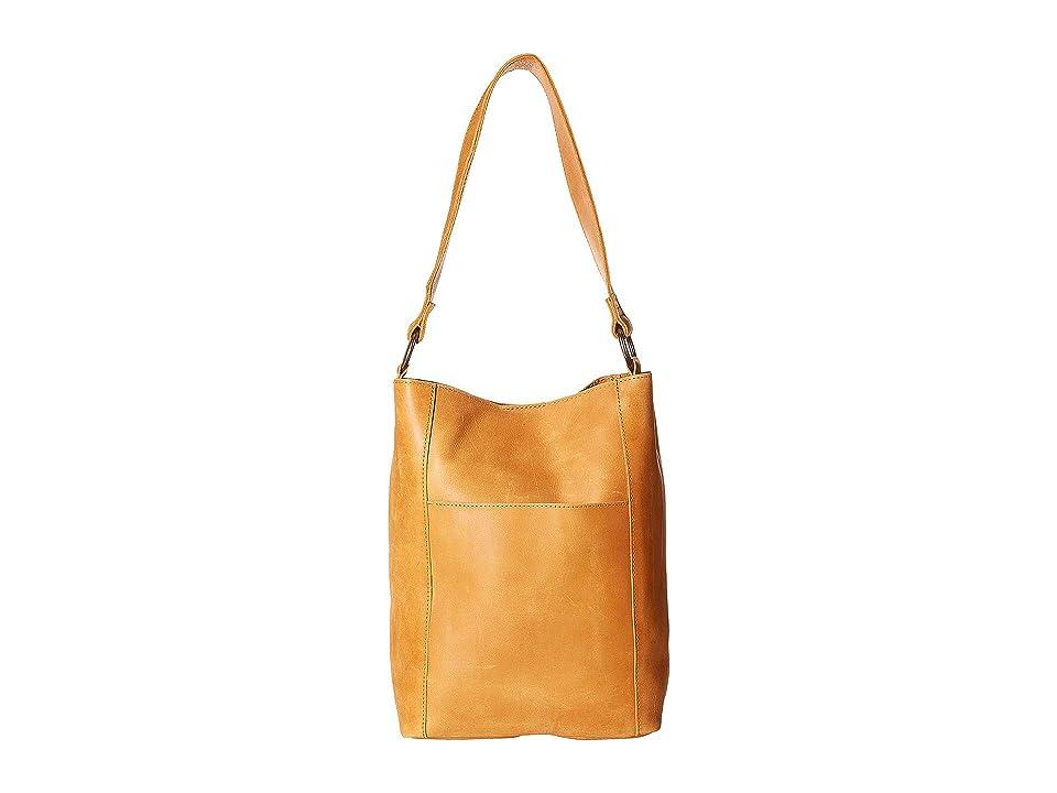 ABLE Mihiret Bucket (Cognac) Shoulder Handbags