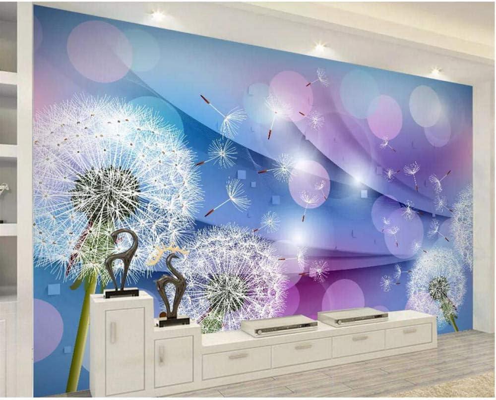 Pbldb Custom Wallpaper Warm Over item handling Romantic Indianapolis Mall 3D Dandelion Tv Background
