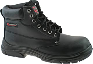 M9503A Wide Fit Mens Leather Safety Boots