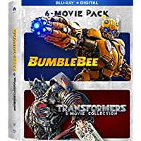 Bumblebee & Transformers Ultimate 6-Movie Collection (Blu-ray + Digital)