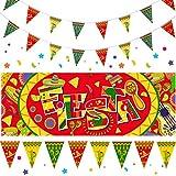 4 Stücke Fiesta Dekoration Kit Einschließlich 1 Fiesta