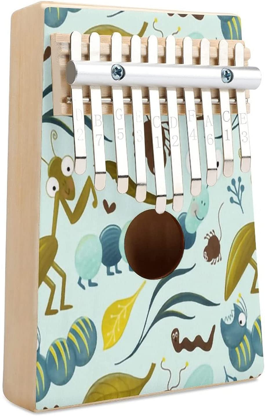 All items in the store Buggin Out Kalimba Thumb Piano Finger Max 63% OFF Instr Musical Key 10