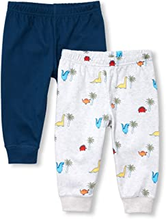 The Children's Place Baby Boys 2 Pack Novelty Printed Jogger Set