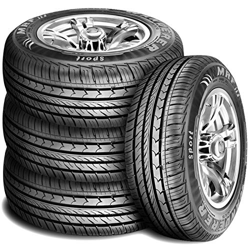 Set of 4 (FOUR) MRF Wanderer Sport Performance All Season Radial Tires-205/60R16 92H