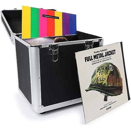 Holds 80-3 Colours Available Titanium Gorilla LP80 12 LP Vinyl Record Storage Carry Case