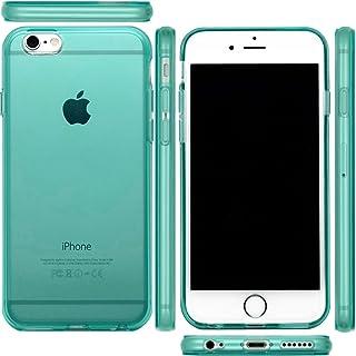 アウトレット【 iphone6 4'7 対応 】 mtmd decolor tpuハードシリコン ケース ロゴ入り (ミント)