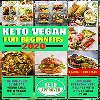 Keto Vegan for Beginners 2020 cover art