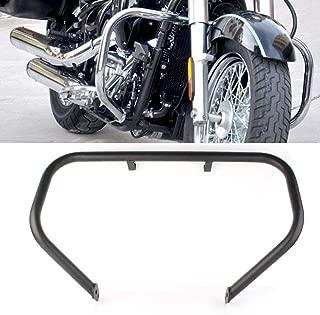 GZYF Motorcycle Engine Guard Highway Crash Bar Protection Fits KAWASAKI VN900 Classic/LT 2006-2013, Black