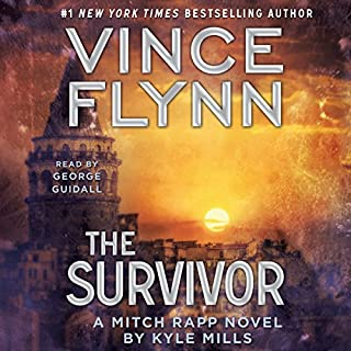 The Survivor                   By:                                                                                                                                 Vince Flynn,                                                                                        Kyle Mills                               Narrated by:                                                                                                                                 George Guidall                      Length: 10 hrs and 39 mins     8,401 ratings     Overall 4.6