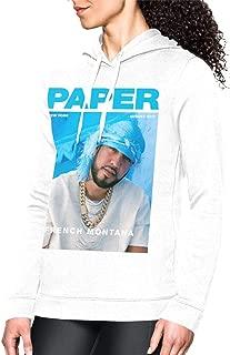 Komlyt French Montana Leisure Ladies'hoodies White