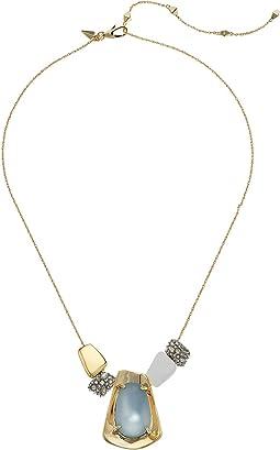 Alexis Bittar Sliding Metal Bead Necklace