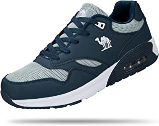 CAMEL CROWN Mens Running Shoes Breathable Mesh Sport Gym Athletic Sneakers Walking Shoes