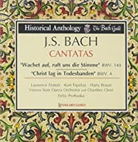 Bach: Cantatas Wachet Auf, Ruft Uns Die Stimme, BWV. 140 & Christ Lag in Todesbanden, BWV 4 by The Bach Guild