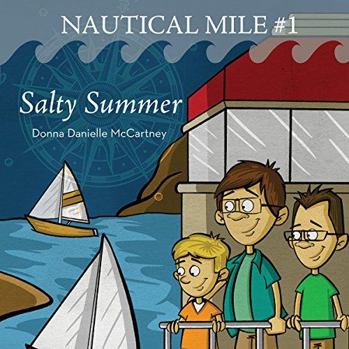 Salty Summer audiobook cover art