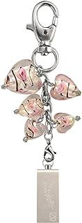View Quest Intelligent Jewellery VQ-IJK-008 8GB USB Flash Drive - Silver Hearts Keyring
