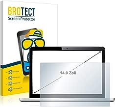 brotect Entspiegelungs-Schutzfolie kompatibel mit Notebooks und Laptops mit (14 Zoll) [310 mm x 175 mm, 16:9] - Anti-Reflex, Matt