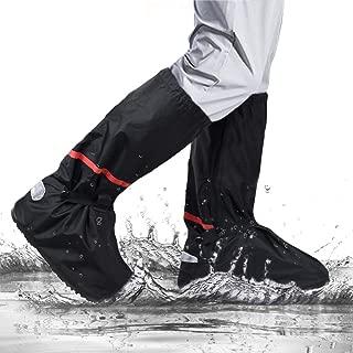 Couvre Chaussures pour Jour de Pluie Housses Chaussures R/éutilisable pour Ext/érieur Maison H/ôpital H/ôtel Antipoussi/ère et Coupe-vent Soumit Couvre-Chaussures Imperm/éable