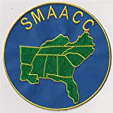 SMAACC Southern Motorcylist AA Camping Convention 5'Round Embroidery Patch