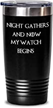 Game of thrones tumbler - Night gathers and now my watch begins - Night's Watch motto winter is coming white walkers gift - 20 oz