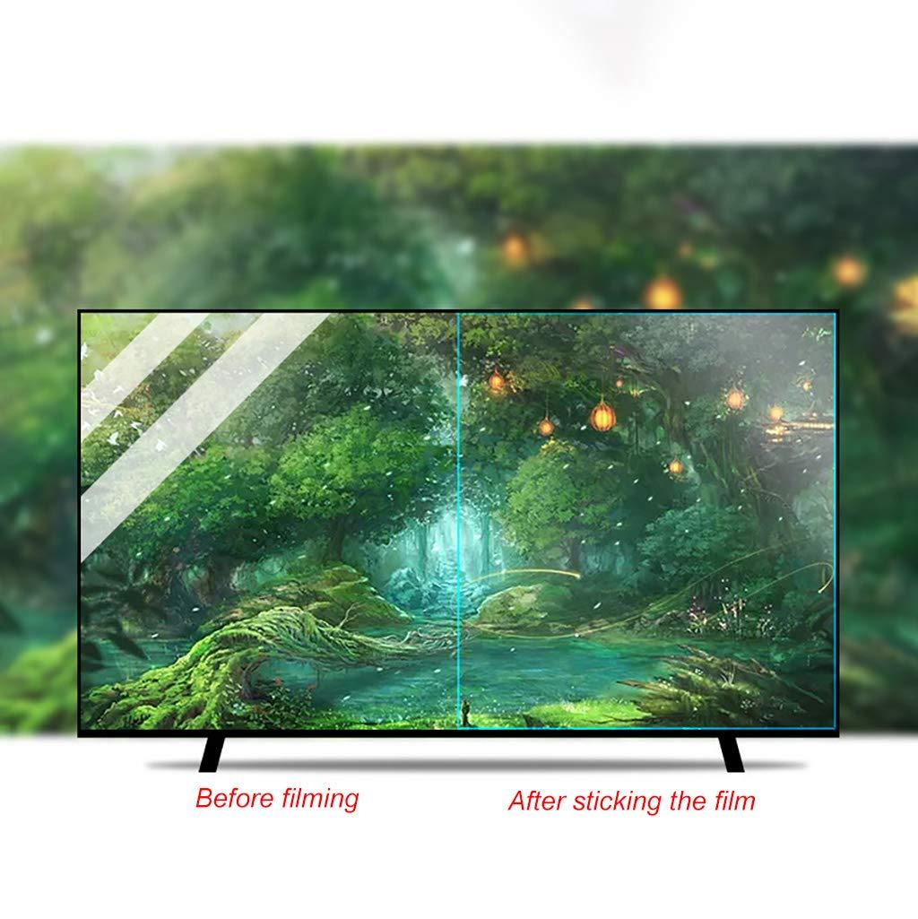 KDJJH Protector de Pantalla de TV, 48 Pulgadas TV Protección de Pantalla Antiazul Filtro Antideslumbrante Filtros ProteccióN para Los Ojos para LCD/LED y Plasma HDTV televisor,48inch/1062x597mm: Amazon.es: Hogar