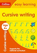 Cursive Writing Ages 4-5: Prepare for School with Easy Home Learning