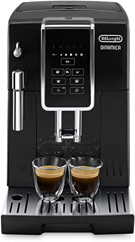 De'Longhi Dinamica, Fully Automatic Coffee Machine ECAM35015B, Black, Coffee at the Perfect Temperature in One Touch,...