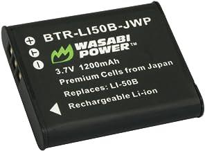 Wasabi Power Battery for Pentax D-LI92 and Ricoh Pentax Optio I-10, RZ10, RZ18, WG-1, WG-1 GPS, WG-2, WG-2 GPS, WG-3, WG-3...