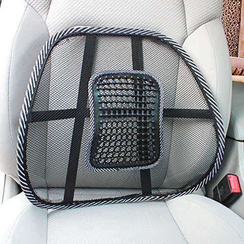 SianoS Stuhl Massage Rückseiten-Rückenstütze-Ineinander greifen lüftet Kissen-Auflage-Auto-Büro-Sitz