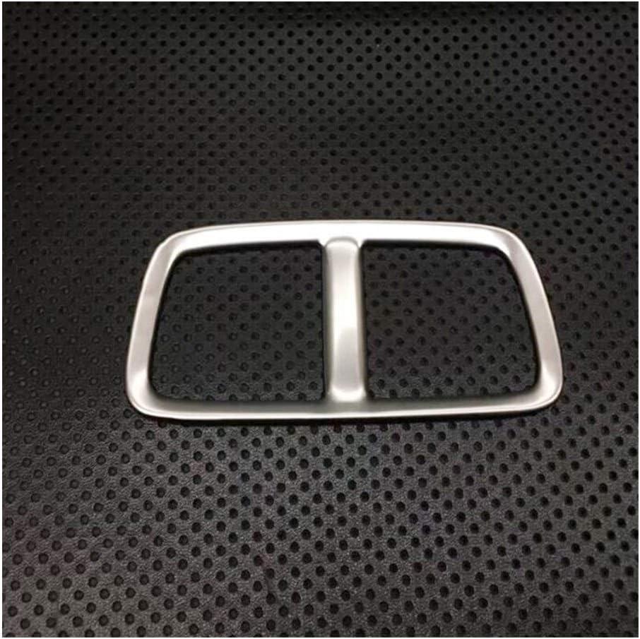 Stubble For Opel Insignia 2017 2018 2019 Car Styling Condición del chasis de Aire de Acero Inoxidable Parte Posterior del Coche Posterior Salida de ventilación Ajuste de la Cubierta