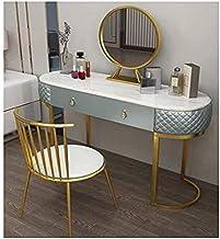 Makeup Desk with Drawers for Bedroom Girls Dressing Table Set Solid Wood Make Up Table with Large Storage Bedroom Furnitur...