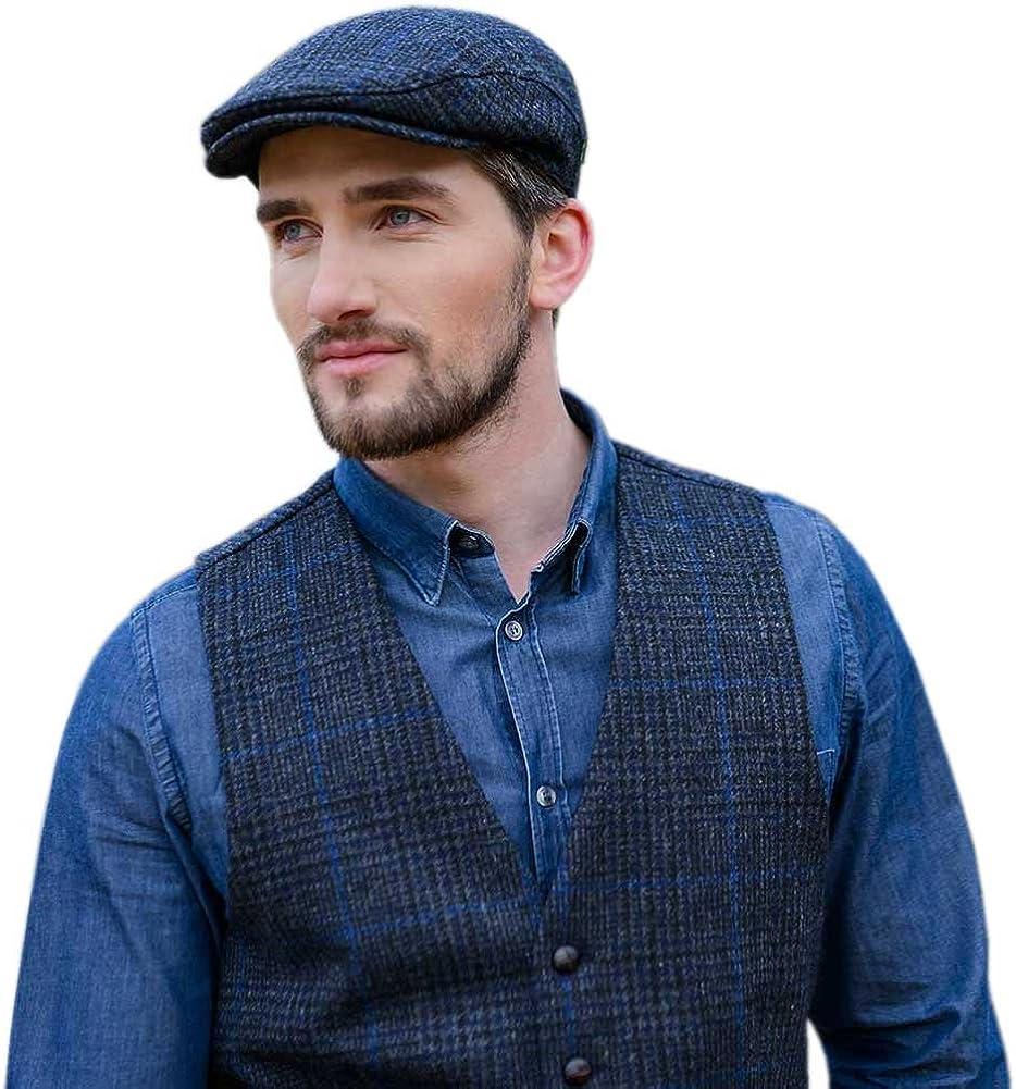 Mucros Weavers Selling and selling Men's Tweed - 40% OFF Cheap Sale Vest Blue Police