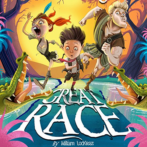 The Great Race audiobook cover art