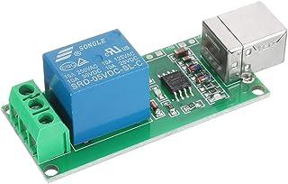 ILS – 5 unidades 1 canal 5 V interruptor relé USB control ordenador programable para módulo Smart Home
