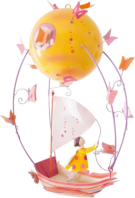 L'Oiseau Bateau Schlumpeters Mobile Kinderzimmer Mdchen im Stiefel