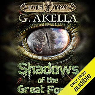 Shadows of the Great Forest                   Written by:                                                                                                                                 G. Akella                               Narrated by:                                                                                                                                 Nick Podehl                      Length: 9 hrs and 42 mins     4 ratings     Overall 4.8