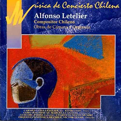 Tres Madrigales Campesinos, Op. 40 para Coro, Cuarteto de Cuerdas y Guitarra: Del Cielo a tu Corazón