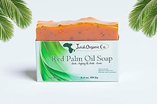 Organic Red Palm Oil Soap (Anti-Aging & Anti Acne) Mint Blend