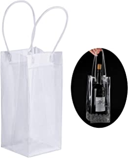Driew Wine Ice Bag, Ice Bag for Wine Bottle Pack of 24
