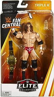 WWE Triple H Fan Central Elite Mattel Toy Wrestling Action Figure